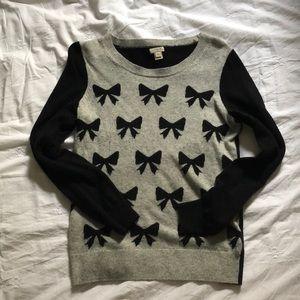J. Crew Bow Sweater 🎀